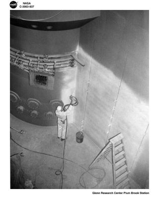 space history, nuclear reactor core, research, Plum Brook Facility, NASA