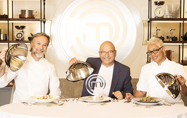 MasterChef shows judges Marcus Wareing, Gregg Wallace and Monica Galetti