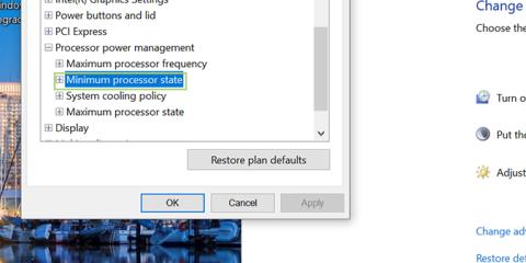 Cách Thay Đổi Cài Đặt Tần Số Bộ Xử Lý Tối Đa Trong Windows 10 - HUY AN PHÁT
