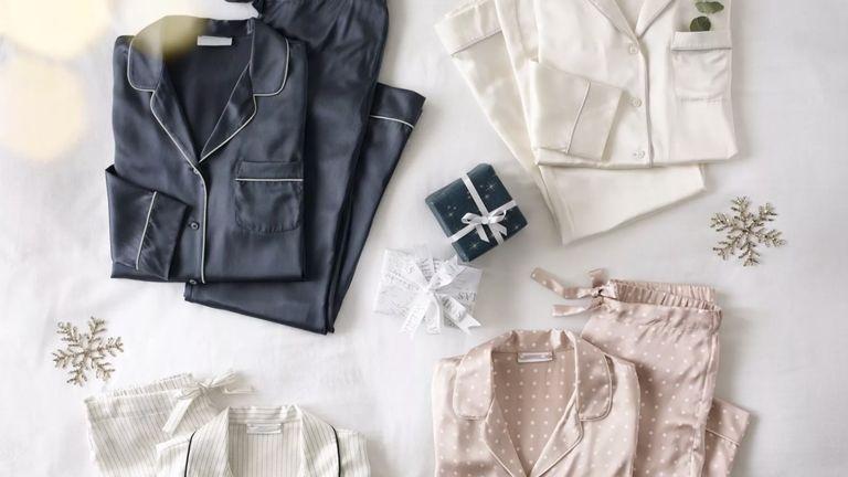 The White Company Black Friday sale pyjamas