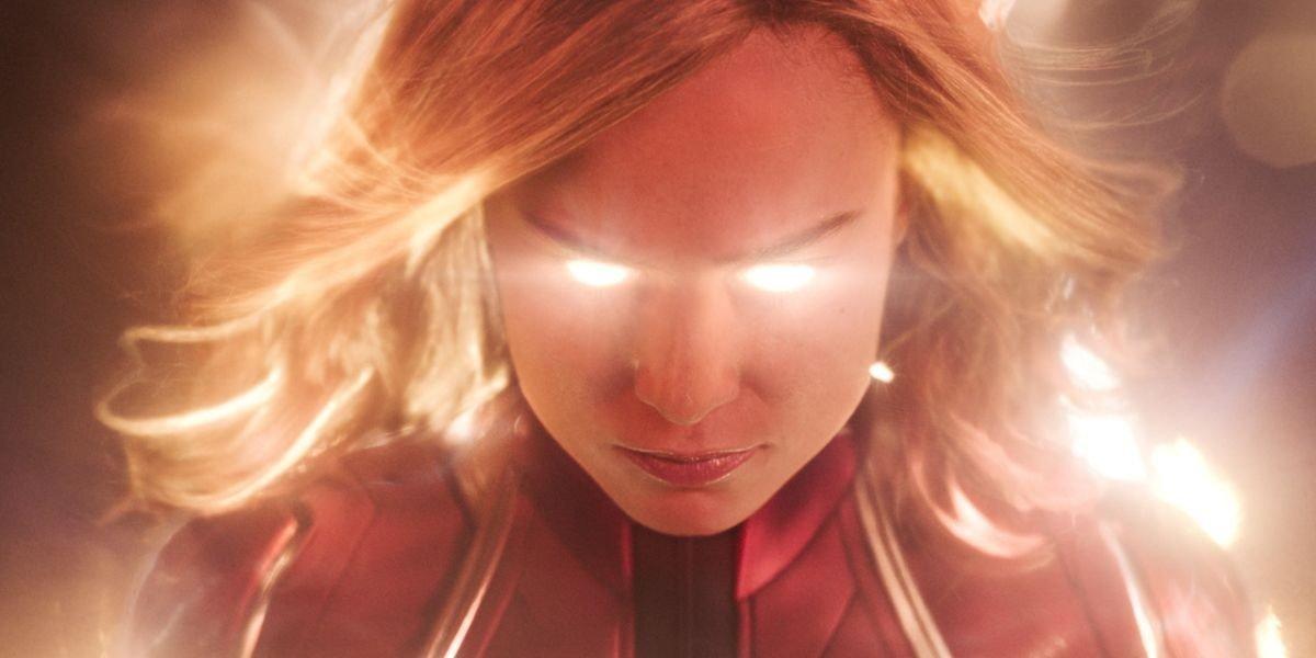 Brie Larson as Captain Marvel in Captain Marvel (2019)