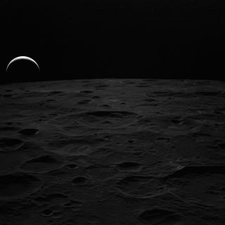 Earthrise, as soon from lunar orbit by the Apollo 14 astronauts in 1971.
