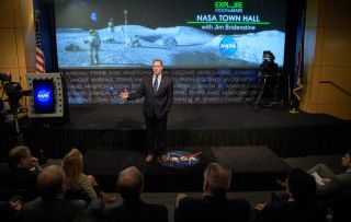 NASA Chief Says 'Nothing Off the Table' as Agency Develops New Moon Plan