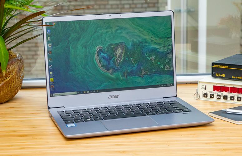 laptop acer body slim)