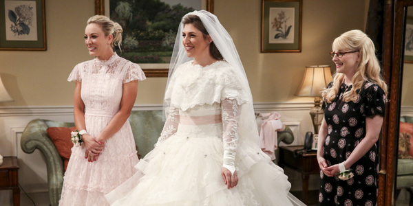 the big bang theory season 11 amy wedding penny bernadette