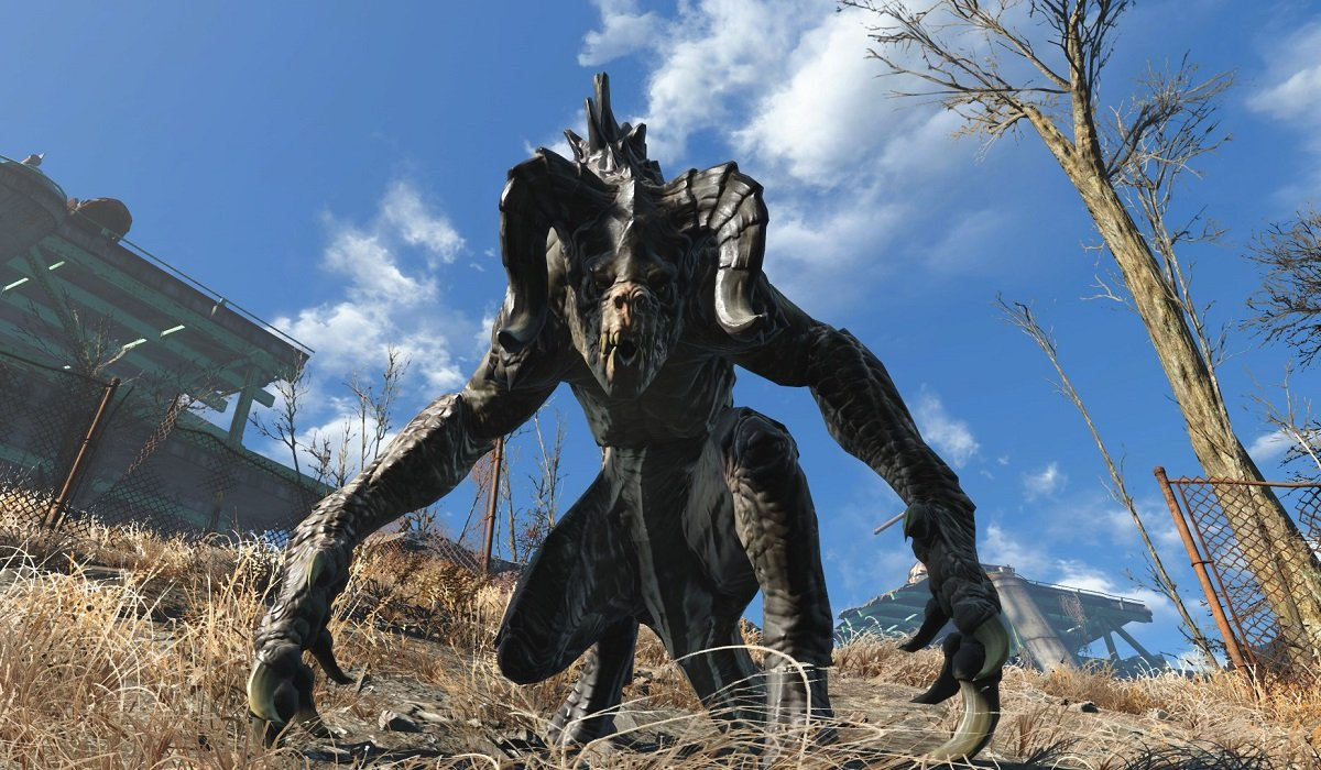 Deathclaw Fallout