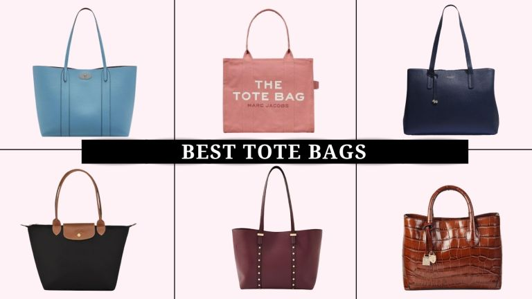 collage of the best tote bags