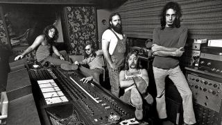 A photograph of Steely Dan