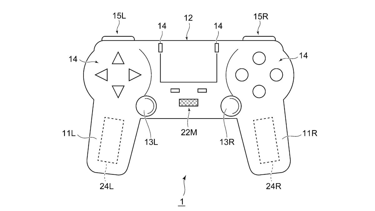 "PS5 controller features an in-built microphone and ""tactile stimulation"" tech, according to new patent"