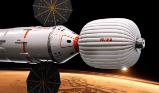 Inspiration Mars Foundation's Spacecraft