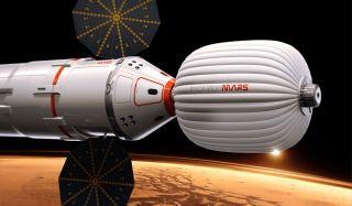 Inspiration Mars Foundation's Spacecraft