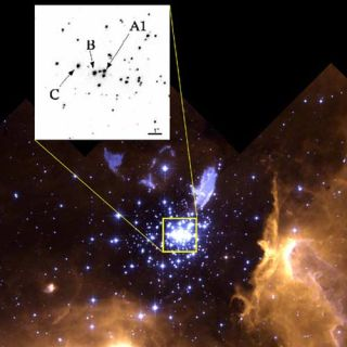 Most Massive Star Discovered