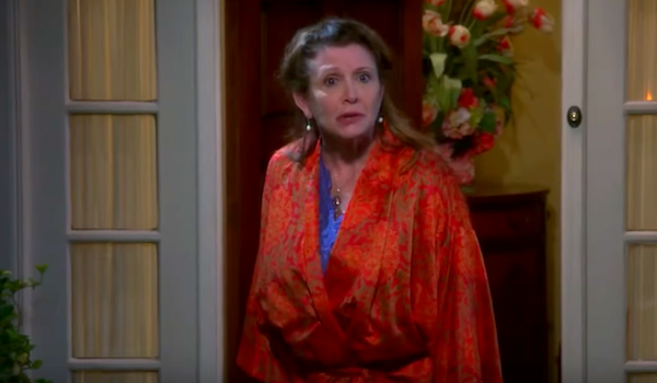 carrie fisher big bang theory