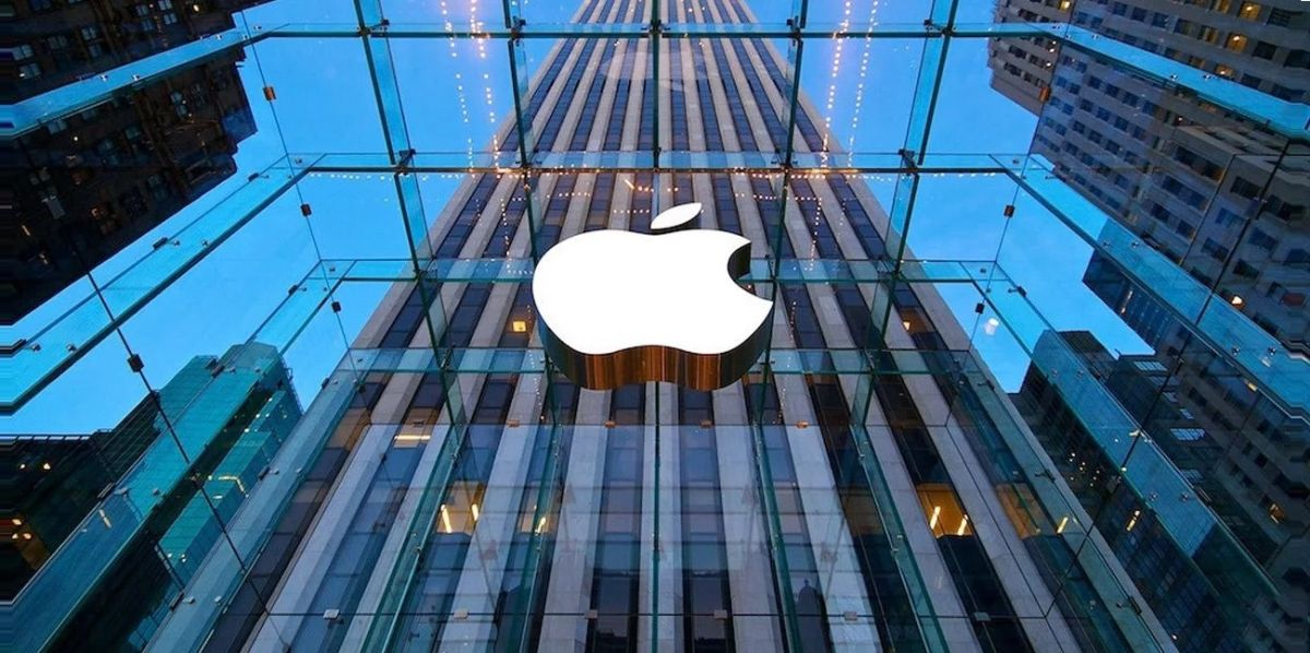 Apple hit with record antitrust fine