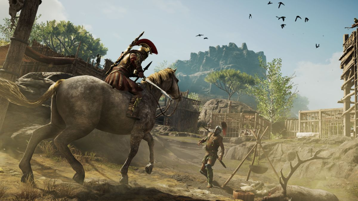 Assassin's Creed Odyssey review diary: killing time in