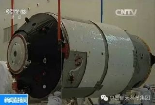 Tiangong-2 Prepped for Launch
