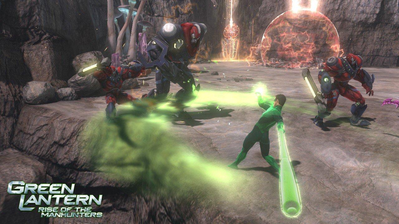 Green Lantern: Rise Of The Manhunters Construct Screenshots #17831