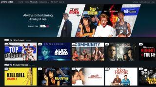 Amazon Prime Video interface