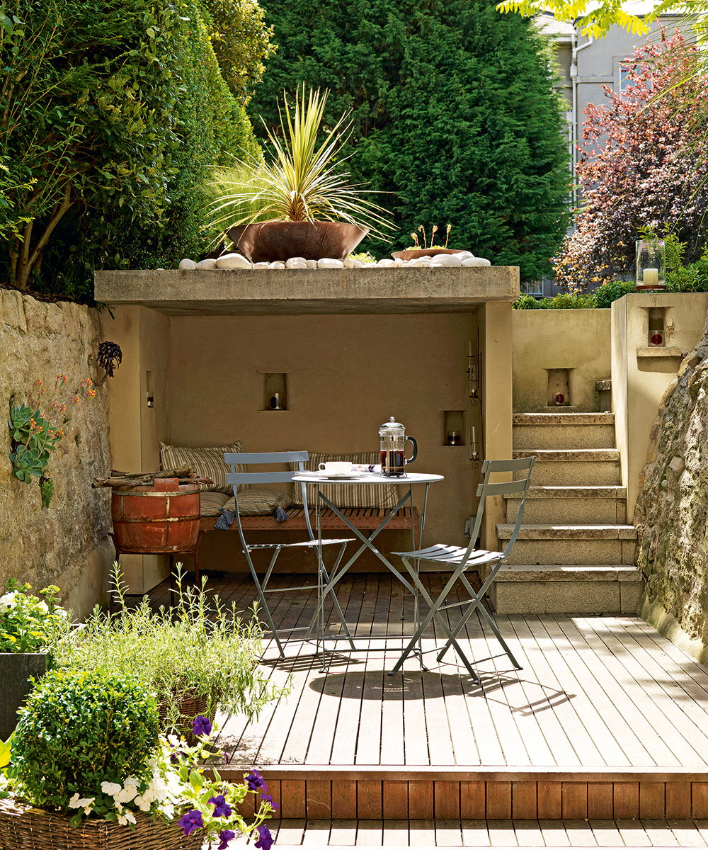 Small Garden Ideas Small Garden Designs Homes Gardens