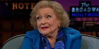 Betty White The Late Late Show With James Corden CBS