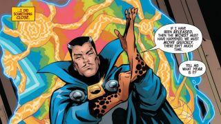 The Death of Doctor Strange #1 excerpt