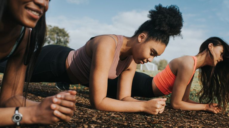 Women doing a trio of workouts, no kit required