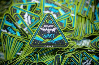 ARK1 Mission Patch CASIS Fairey