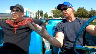 Ice-T (left) and Steve Austin in USA Network's 'Straight Up Steve Austin'