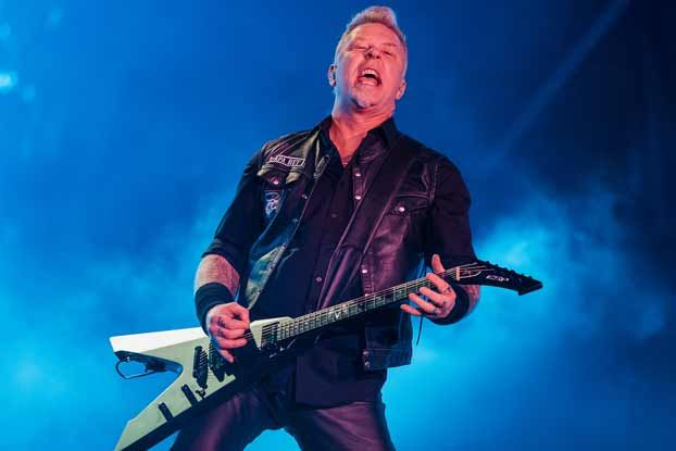 new james hetfield biography an interview with author mark eglinton guitarworld. Black Bedroom Furniture Sets. Home Design Ideas