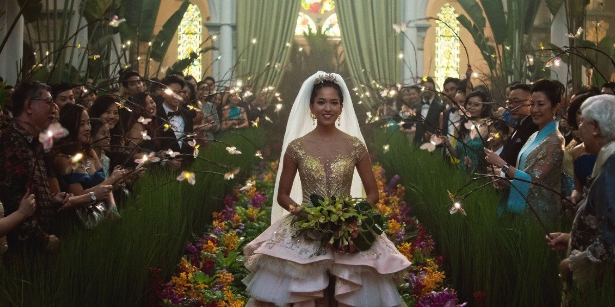 The Wedding Scene in Crazy Rich Asians