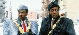 Eddie Murpyh and Arsenio Hall in 'Coming to America'.