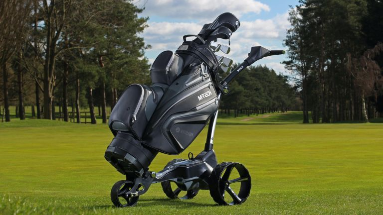 Motocaddy M-Tech Electric GPS Trolley competition
