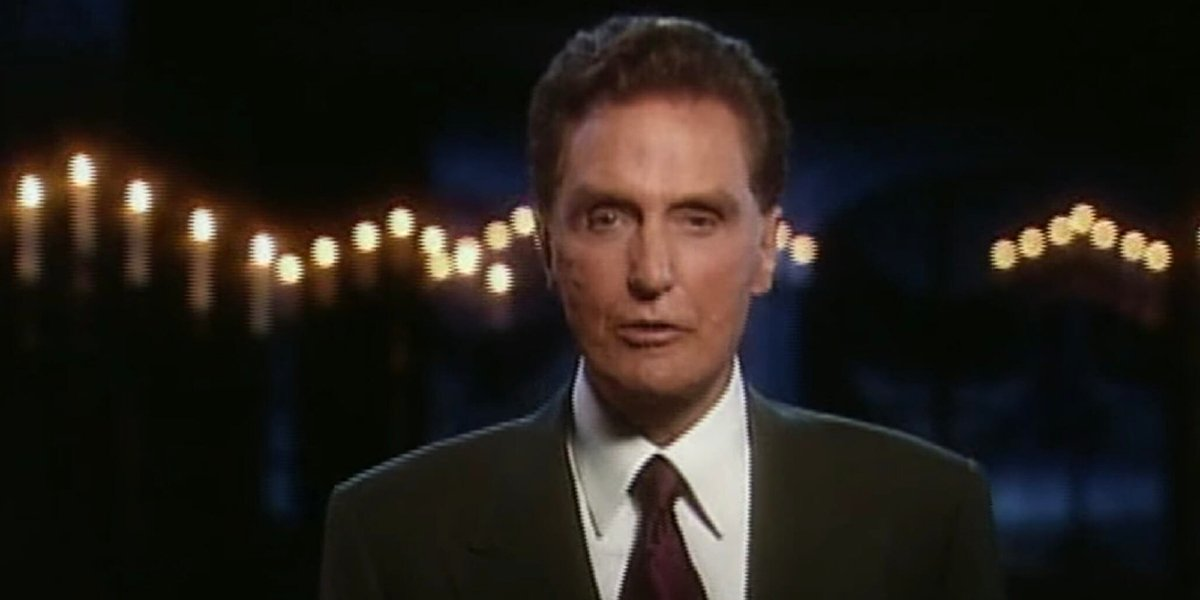 Robert stack on Unsolved Mysteries