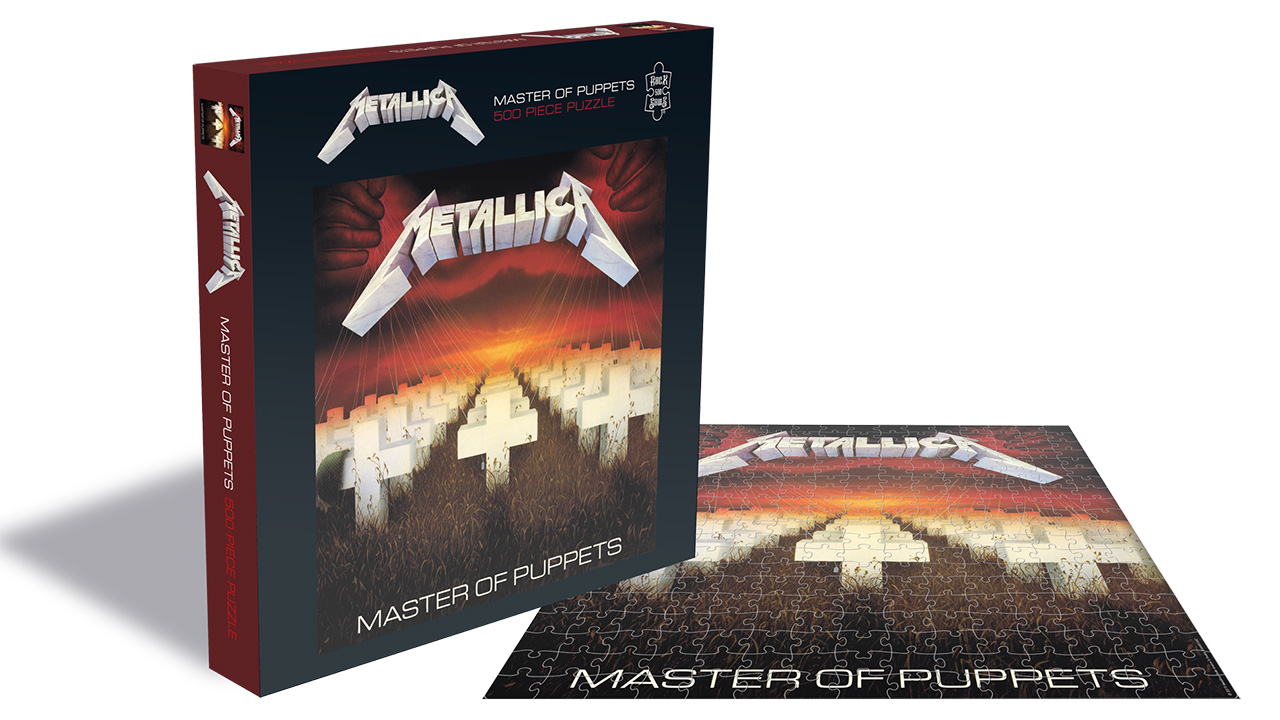 New Metallica jigsaws celebrate band's iconic album covers   Louder