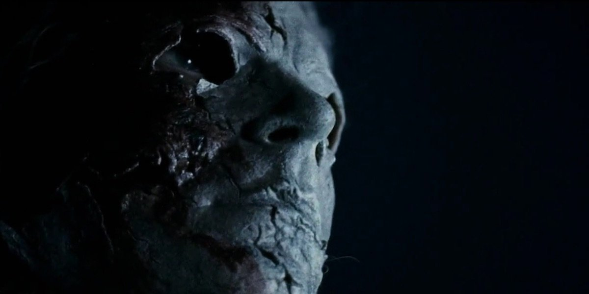 Michael's mask in Rob Zombie's Halloween