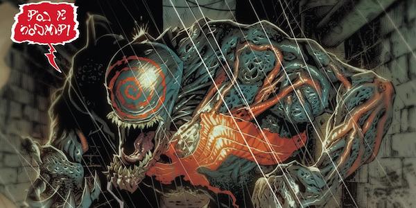 Venom MArvel Comics Red New Form