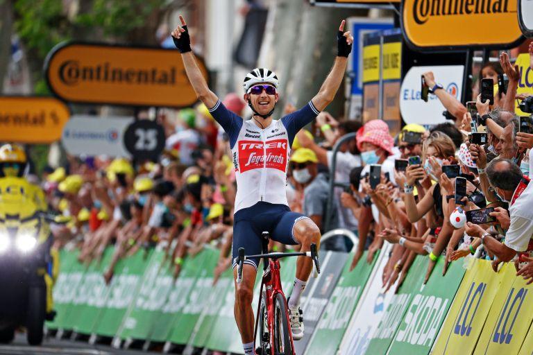 Bauke Mollema wins stage 14 of the 2021 Tour de France