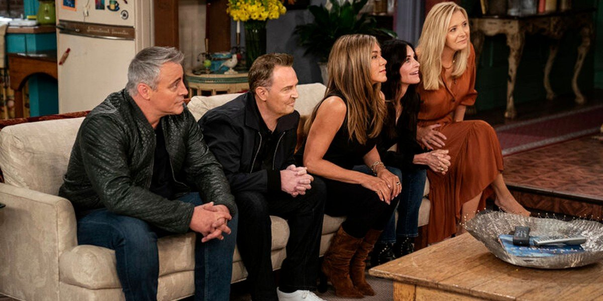 The cast of Friends on Friends: The Reunion (2021)