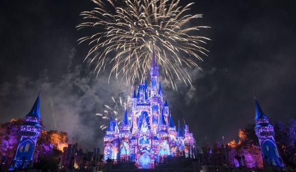 DMagic Kingdom fireworks