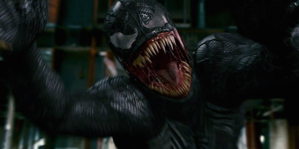 Venom launching at camera