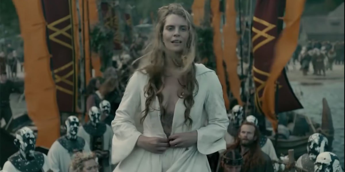Gunnhild At the end of her life in Vikings
