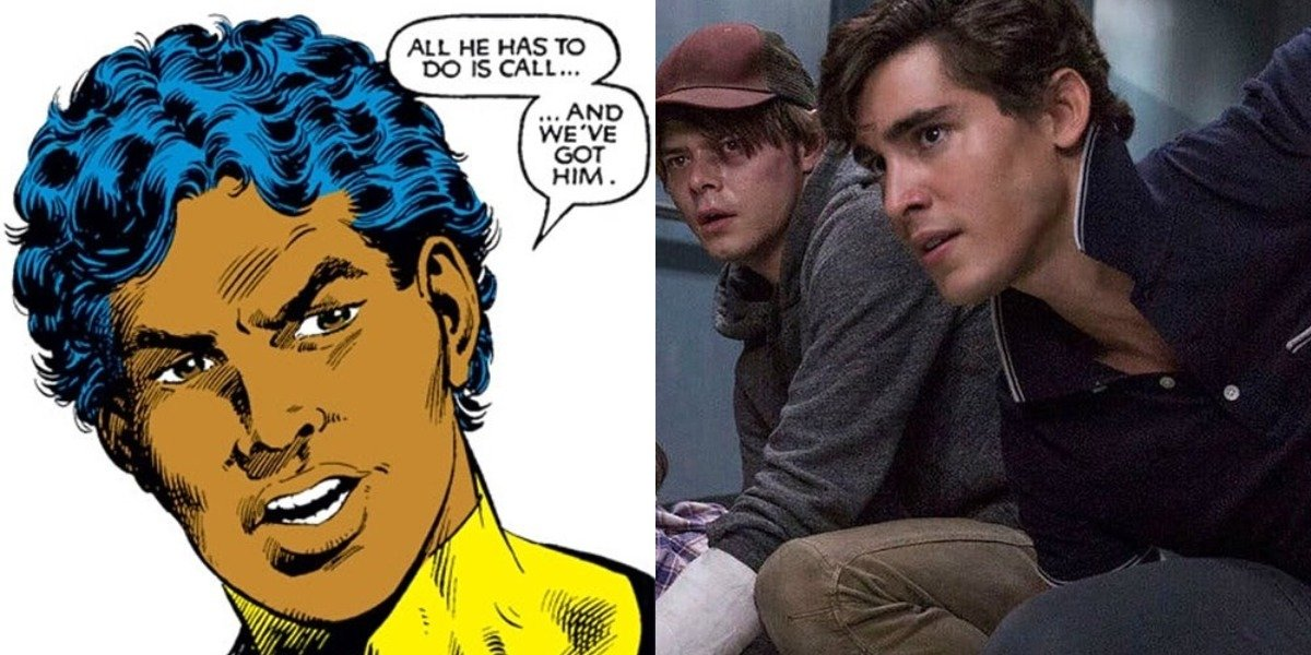 Sunspot comics versus New Mutants film