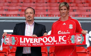 Soccer – Liverpool Press Conference with new signing Fernando Torres – Anfield