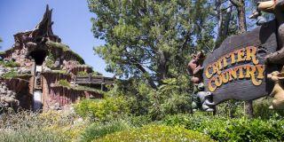 Disneyland's Critter Country and Splash Mountain