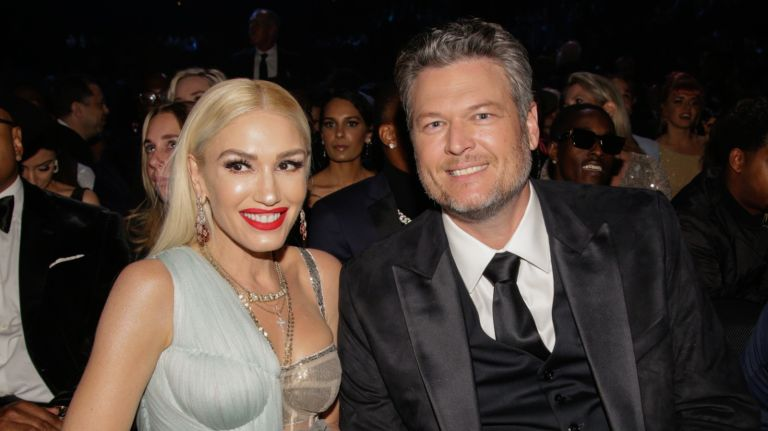 Blake Shelton and Gwen Stefani appear at THE 62ND ANNUAL GRAMMY® AWARDS, broadcast live from the STAPLES Center in Los Angeles, Sunday, January 26th (8:00-11:30 PM, live ET/5:00-8:30 PM, live PT) on the CBS Television Network.