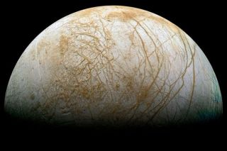 Europa Thick Ice Crust