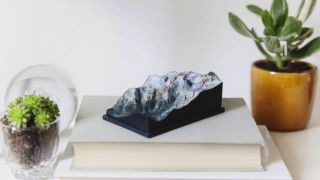 Nice Trails 3D-Printed Mountains