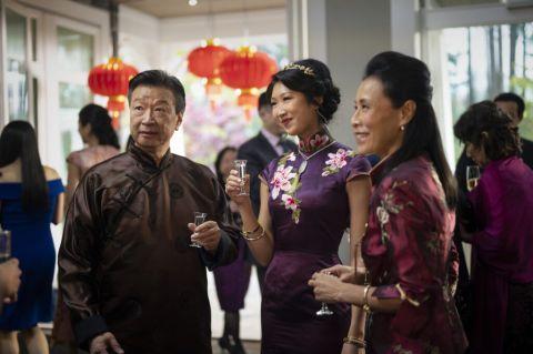 """Tzi Ma as Jin Shen, Shannon Dang as Althea Shen and Kheng Hau Tan as Mei - Li in """"Kung Fu,"""" a CW reboot of the classic TV series."""