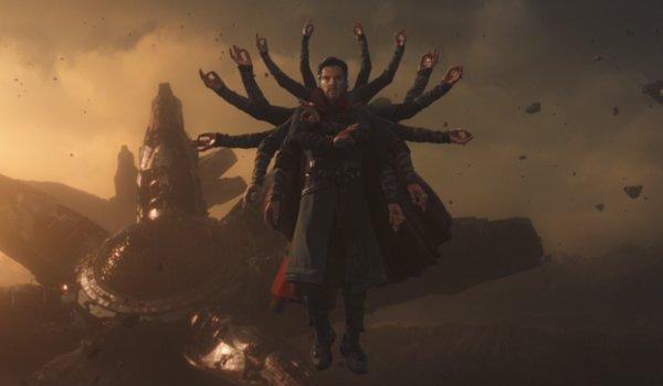Doctor Strange multi arms Avengers Infinity War