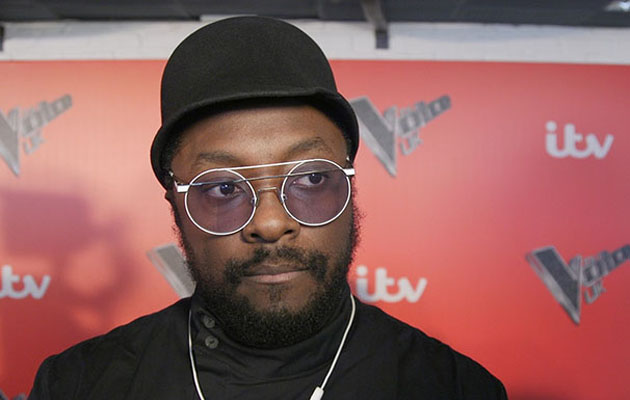 will.i.am is a coach on The Voice UK